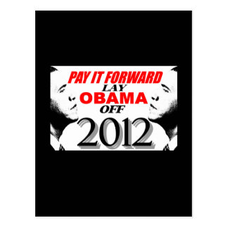 Pagúele adelante - la endecha Obama de 2012 Postales