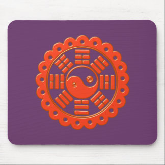 Pah Kwa talisman against bad forces Mouse Pad