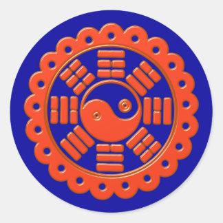 Pah Kwa talismán contra fuerzas enfadadas