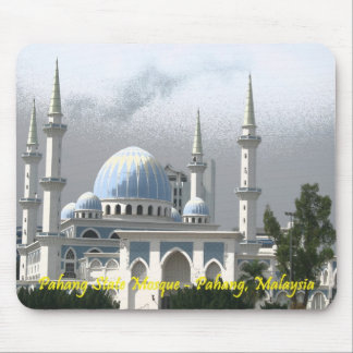 Pahang state Mosque, Malaysia Mousepad