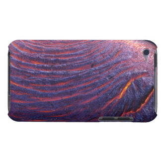 Pahoehoe lava flow from Kilauea Volcano iPod Touch Cover