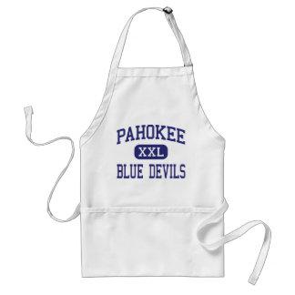 Pahokee - Blue Devils - Middle - Pahokee Florida Adult Apron