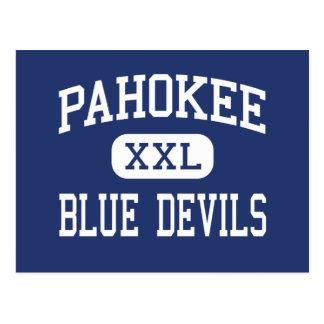Pahokee - Blue Devils - Middle - Pahokee Florida Postcard