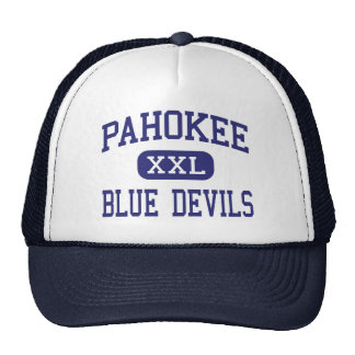 Pahokee - diablos azules - centro - Pahokee la Flo Gorros