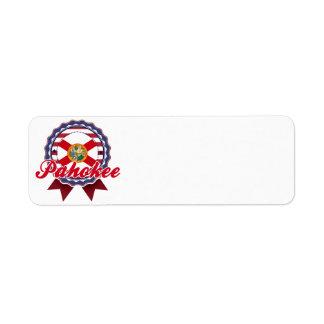 Pahokee, FL Return Address Label