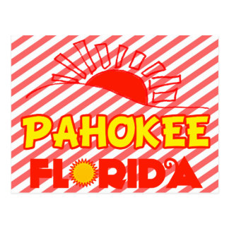 Pahokee, Florida Postcard