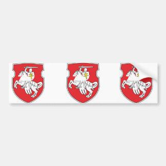 Pahonia, Belarus Bumper Sticker
