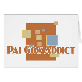 Pai Gow addict's greetings Cards