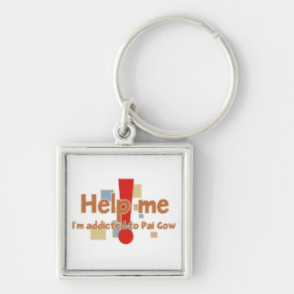 Pai Gow Addict's Keychain
