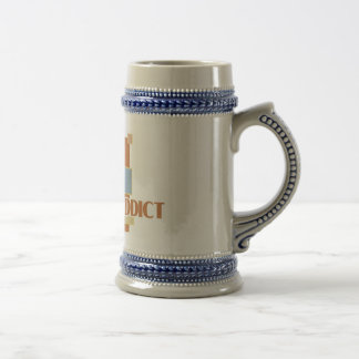 Pai Gow Addict's stein Coffee Mugs