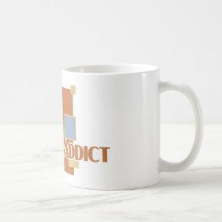 Pai Gow Addict's white mug