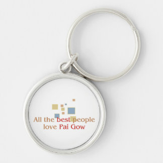 Pai Gow Lover's Keychain