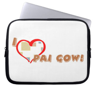 Pai Gow Lover's laptop sleeves