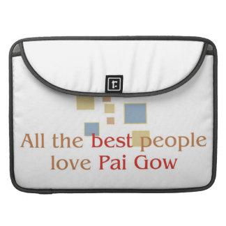 Pai Gow Lover's macbook sleeves MacBook Pro Sleeves