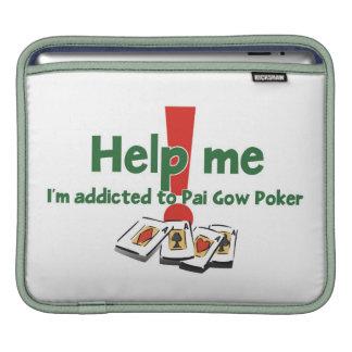 Pai Gow Poker Addict's iPad sleeves