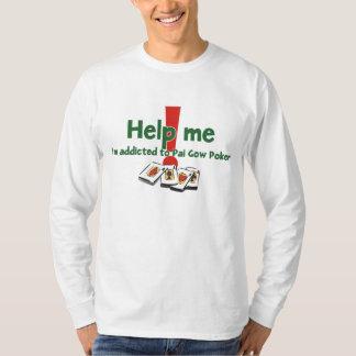 Pai Gow Poker Addict's long sleeve t-shirt