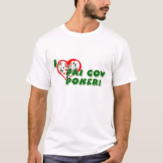 Pai Gow Poker Lover's Basic T-shirt
