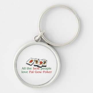 Pai Gow Poker Lover's Keychain