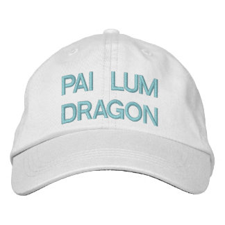 PAI LUM DRAGON EMBROIDERED BASEBALL HAT