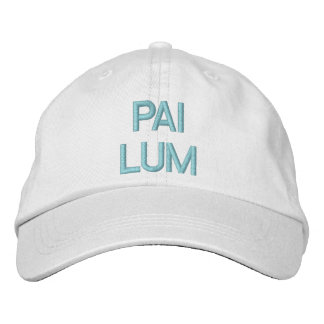 PAI LUM EMBROIDERED HATS