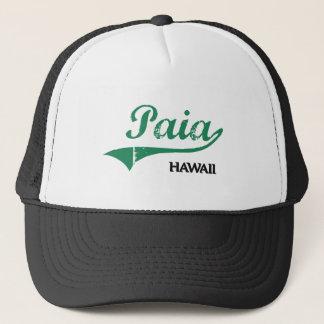 Paia Hawaii City Classic Trucker Hat