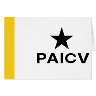 Paicv, Colombia Greeting Card