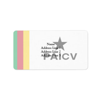 Paicv, Colombia Address Label