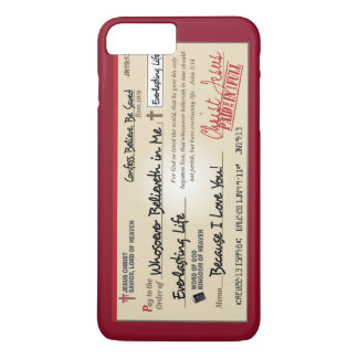 Paid in Full Saved by Jesus Check Christian iPhone 7 Plus Case