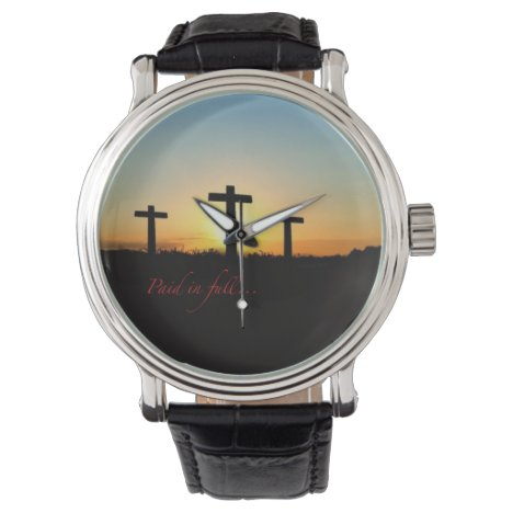 Paid in full... wristwatch