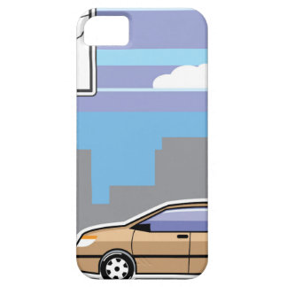 Paid Parking Meter car Vector iPhone SE/5/5s Case
