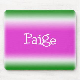 Paige Alfombrillas De Ratón