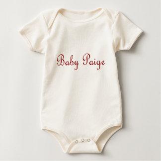 paige baby bodysuit