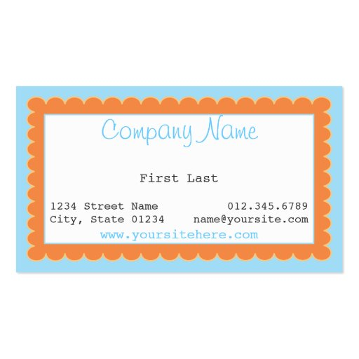 paige Double-Sided standard business cards (Pack of 100)