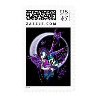 Paige Butterfly Moon Faery Postage