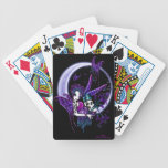 Paige Crescent Moon Butterfly Fairy Playing Cards