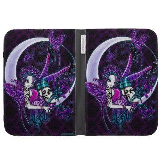 Paige Gothic Crescent Moon Fairy Kindle Case