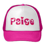 Paige in Hearts Hats