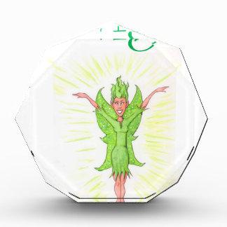 Paige is a Green Fairy Acrylic Award