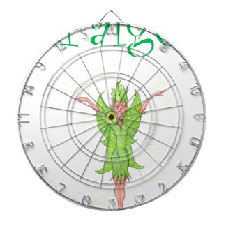 Paige is a Green Fairy Dartboards