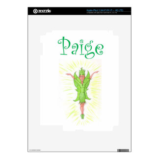 Paige is a Green Fairy iPad 3 Skins
