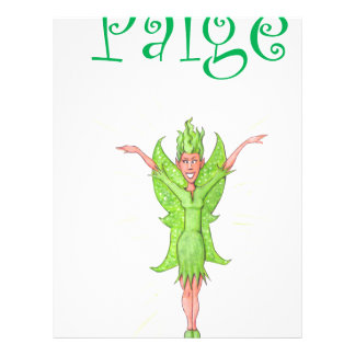 Paige is a Green Fairy Letterhead