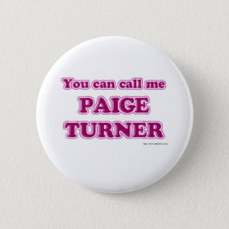 Paige Turner Button
