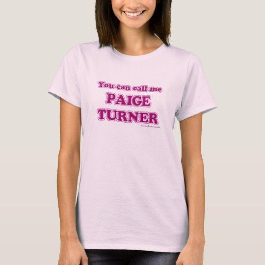 Paige Turner T-shirt