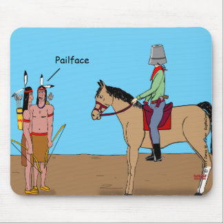 """""""Pail Face"""" Mouse Pad"""