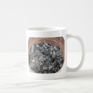 Pail of charcoal coffee mug