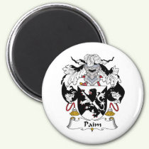 Paim Family Crest Magnet