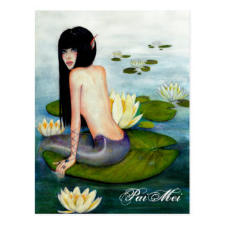 PaiMei the Mermaid Postcards