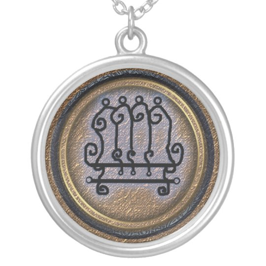 paimon silver plated necklace