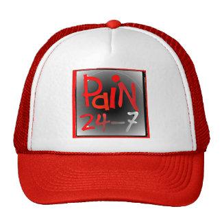 Pain 24/7 cap/hat - chronic Invisible illness Trucker Hat