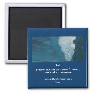 PAIN 2 INCH SQUARE MAGNET